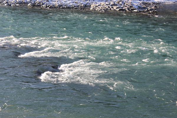 Река Катунь в районе села Узнезя