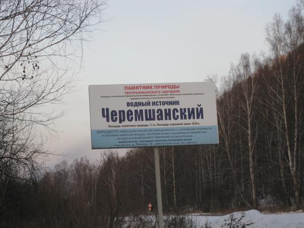 Черемшанский источник