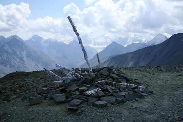 Белуха Перевал Кара-тюрек