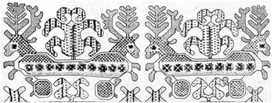 Олень символ богинь Рожаниц