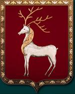 Олень геральдический символ
