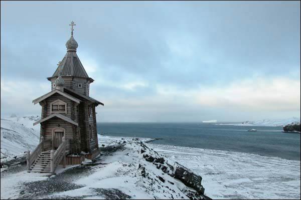 Церковь Святой Троицы  в Антарктике